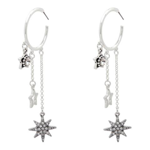 BiBi Bijoux Silver Hoop Earrings