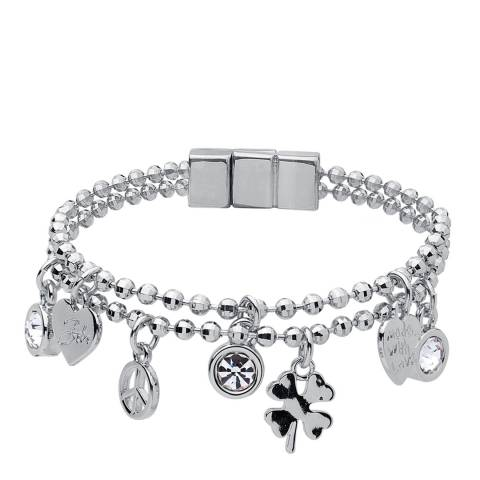 BiBi Bijoux Silver Charm Bracelet