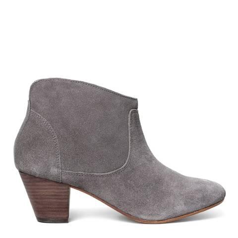 Hudson Slate Suede Kiver Ankle Boots