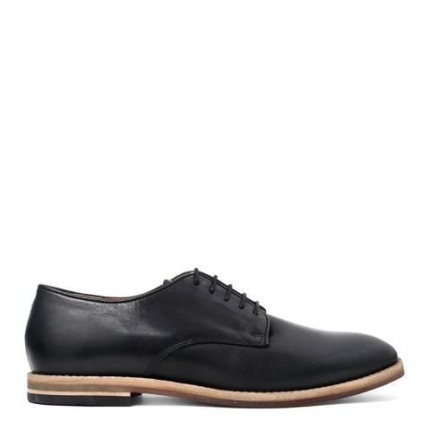 Hudson Black Leather Hadstone Formal Shoes