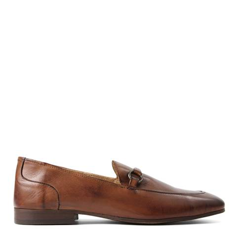 Hudson Tan Leather Renzo Loafers