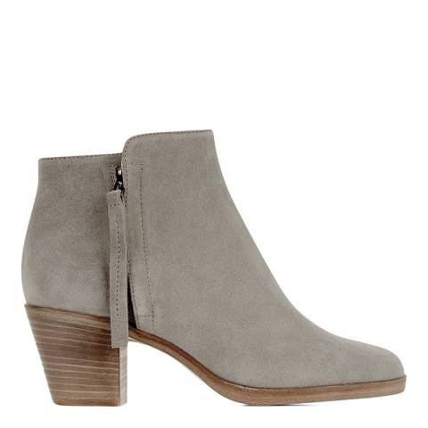 Hobbs London Grey Leather Kim Ankle Boot