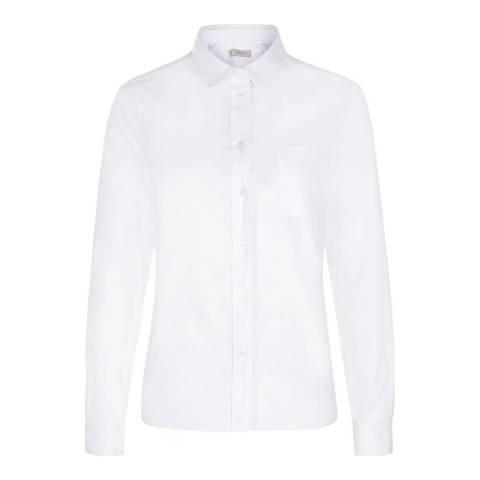 Hobbs London White Cotton Anne Shirt