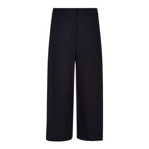 Hobbs London Navy Vita Culottes Trousers