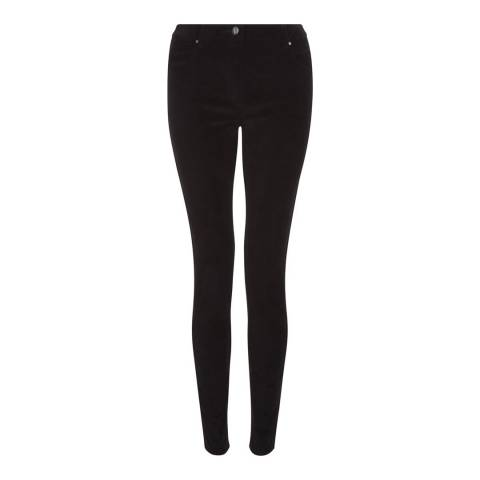 Hobbs London Black Willow Moleskin Jeans