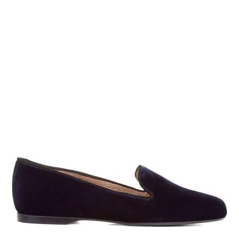 Hobbs London Navy Velvet Rachel Shoes