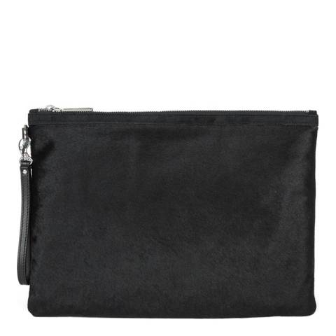 Hobbs London Black Liv Clutch Bag
