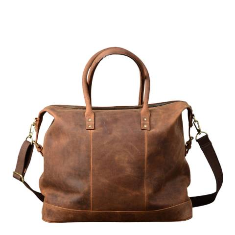 Forbes & Lewis Vintage Oxford Holdall Leather