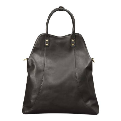 Forbes & Lewis Black Leather Tara Tote