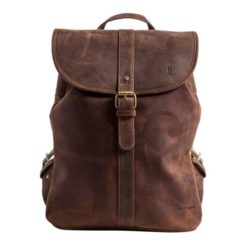Forbes & Lewis Vintage Leather Lincoln Backpack