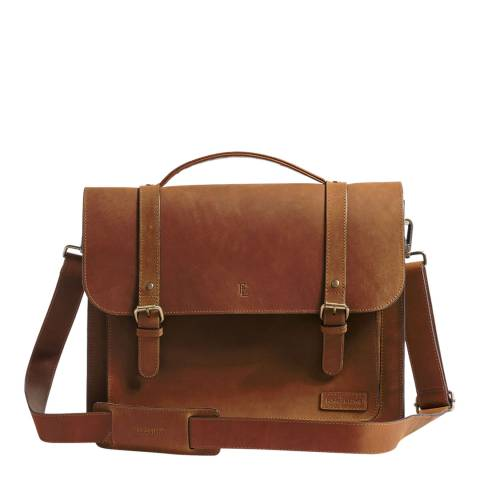 Forbes & Lewis Vintage Leather Dorset Satchel
