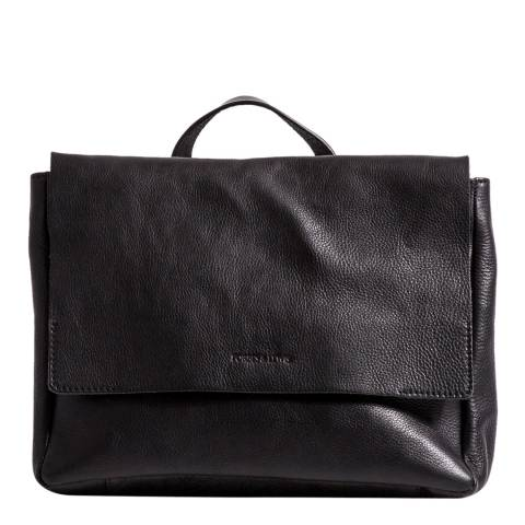 Forbes & Lewis Black Leather Cara Crossbody Bag