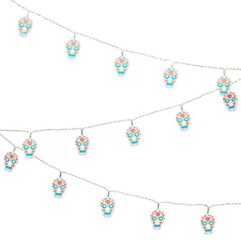 Tatty Devine Sugar Skull String Lights