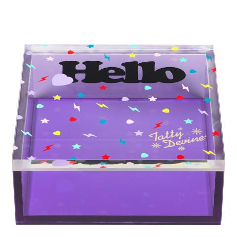Tatty Devine Small Hello Storage Box