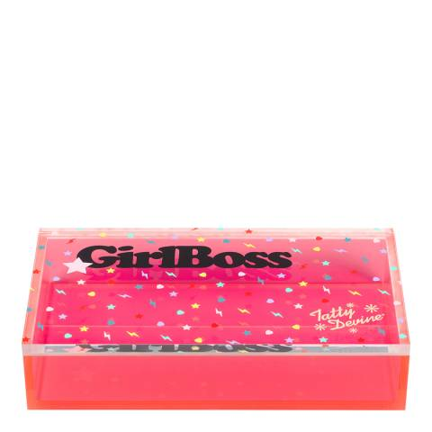 Tatty Devine Medium Girl Boss Storage Box