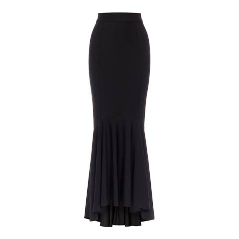 Coast Black Evy Prom Fishtail Skirt