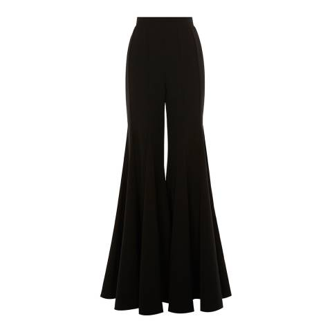 Coast Black York Wide Flared Trousers
