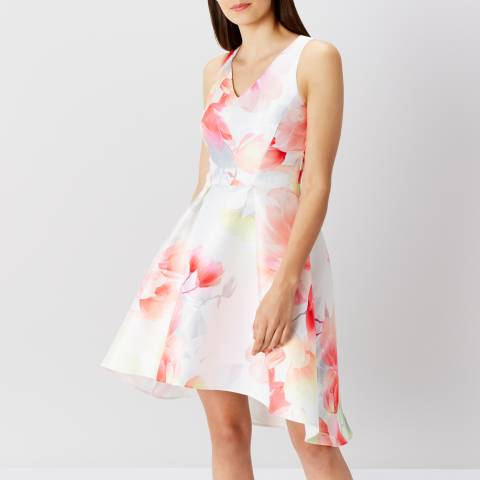 Coast Pink Floral Hove Print Dress