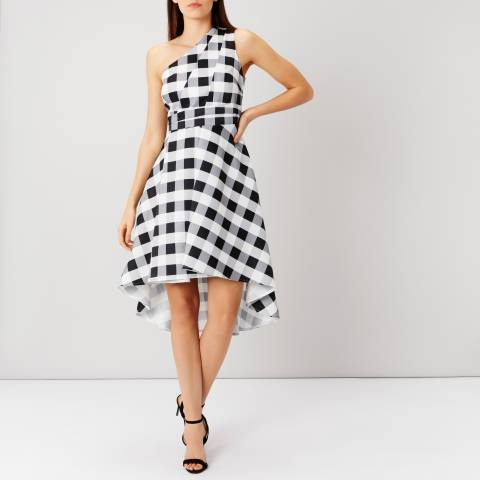 Coast Monochrome Nina Gingham Dress