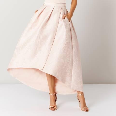Coast Blush Leah Jacquard Hi Low Skirt