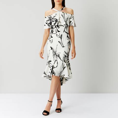 Coast Monochrome Elouise Print Dress