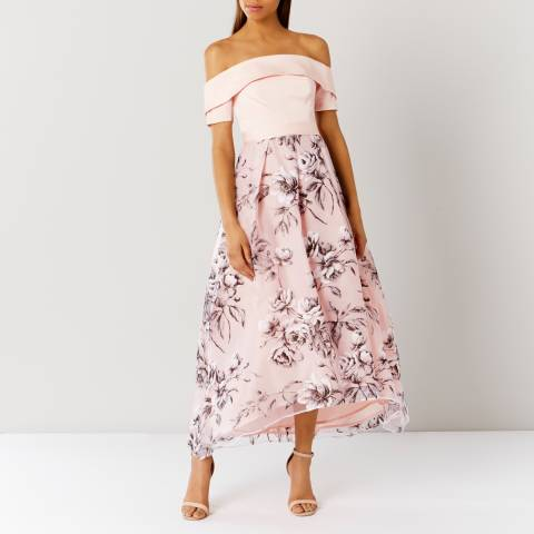 Coast Blush Yaya Bardot Maxi Dress