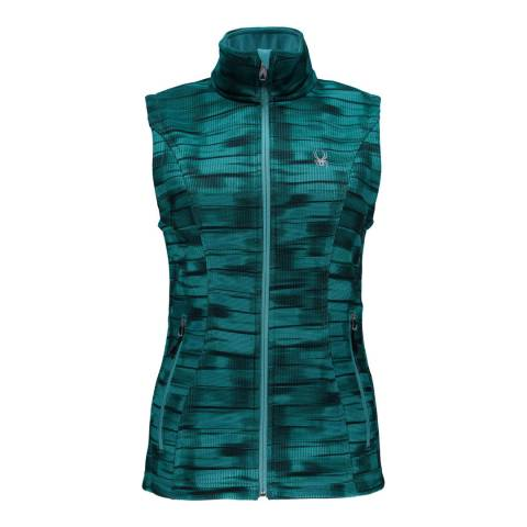 Spyder Womens Baltic Wind Print Endure Novelty Stryke Vest
