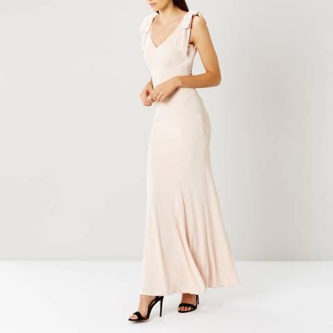 Coast Light Pink Ray Jersey Bridesmaid Dress