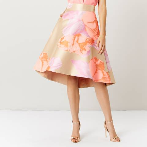 Coast Peach Frankie Jacquard Skirt