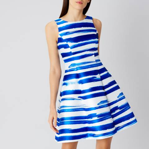 Coast Blue Stripe Milana Dress