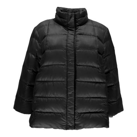 Spyder Womens Charcoal Solitude Crop Down Jacket