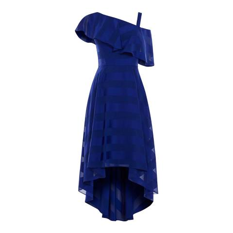 Coast Navy Elspbeth Soft Midi Dress