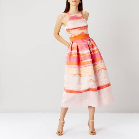 Coast Pink Stripe Rio Maxi Dress