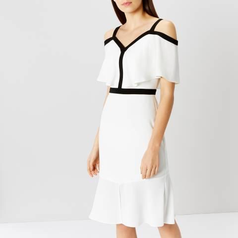 Coast Monochrome Leah Shift Dress