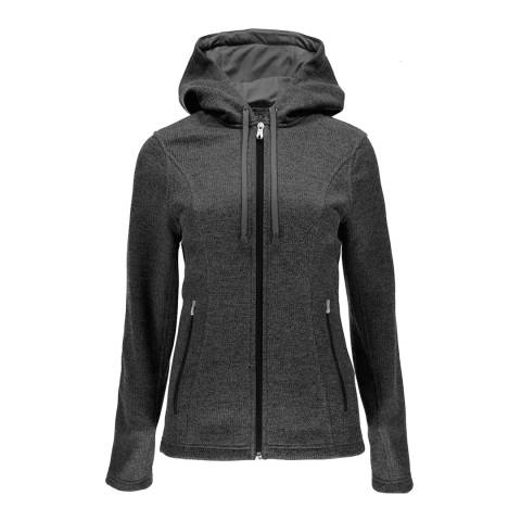 Spyder Women's Grey Novelty Hoody Stryke Jacket