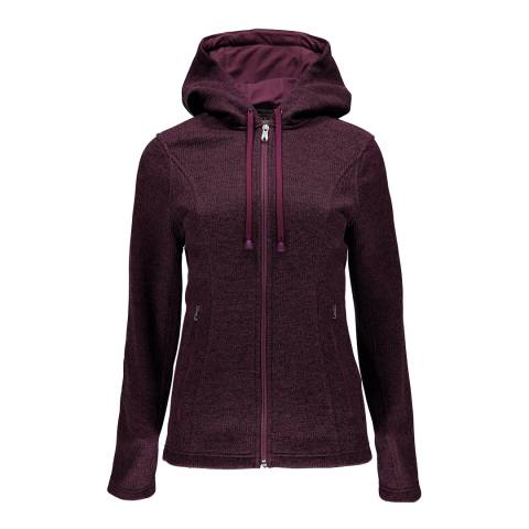 Spyder Women's Amaranth Novelty Hoody Stryke Jacket