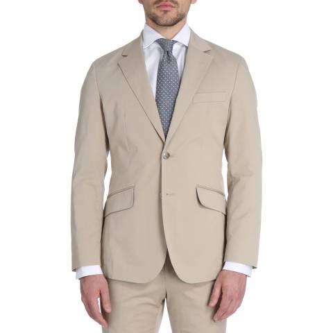 Hackett London Stone Stretch Cotton Tailored Jacket