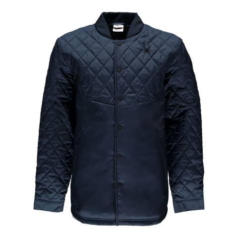 Spyder Deep Blue Ouzo Shirt Insulator Jacket