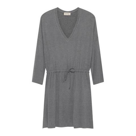American Vintage Heather Grey Casa Grande Wool Blend Dress