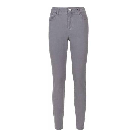 Jaeger Grey High Rise Skinny Jeans
