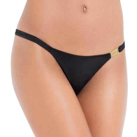 L'Agent by Agent Provocateur Black Taniia Bikini Briefs