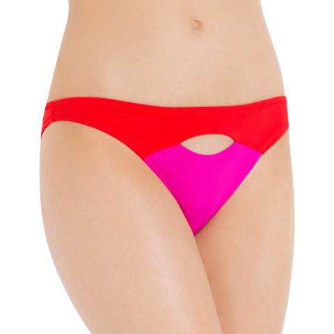 L'Agent by Agent Provocateur Pink Alenya Bikini Briefs