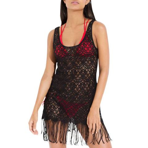 L'Agent by Agent Provocateur Black Karrie Cover Up