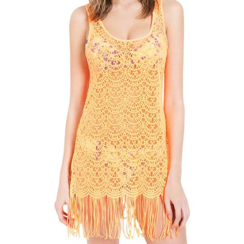 L'Agent by Agent Provocateur Neon Orange Karrie Cover Up