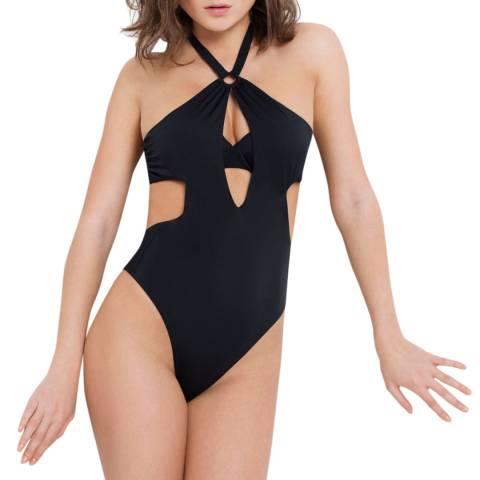 L'Agent by Agent Provocateur Black Adriana Swimsuit