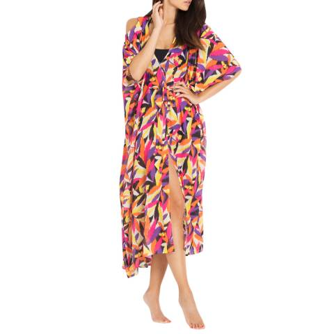 L'Agent by Agent Provocateur Multi Print Holly Cover Up