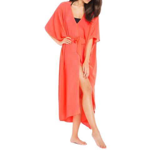 L'Agent by Agent Provocateur Neon Melon Holly Cover up