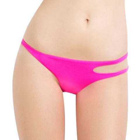 L'Agent by Agent Provocateur Pink Agata Bikini Briefs