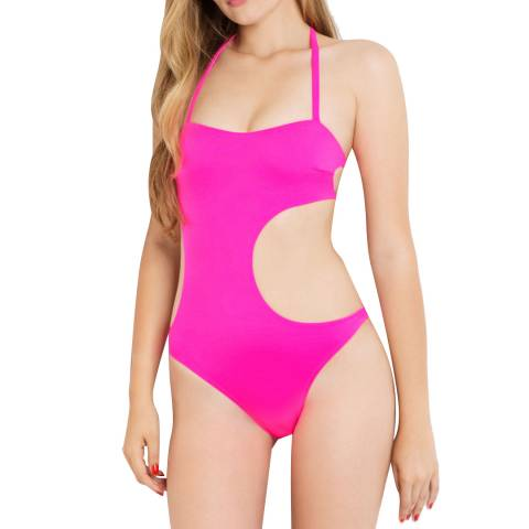 L'Agent by Agent Provocateur Pink Agata Swimsuit