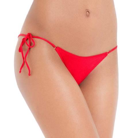 L'Agent by Agent Provocateur Red Robbie Bikini Brief